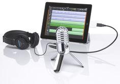 Metor Mic Perfect for your home studio, also ideal for Skype, iChat or voice recognition software. Plus it's perfect for podcasting! Meteor Mic has one of the largest condenser diaphragms (25mm) of any USB mic available. Its cardioid pickup pattern, smooth frequency response and 16-bit, 44.1/48kHz resolution give you professional audio results no matter what you're recording.  A USB cable and carry pouch are also included.