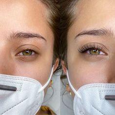 Natural Fake Eyelashes, Perfect Eyelashes, Makeup Eye Looks, Skin Makeup, Eyelash Extensions Classic, Natural Looking Eyelash Extensions, Best Lash Extensions, Eyelash Lift, Longer Eyelashes