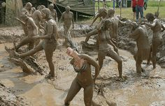 The 10 worst people you see at every summer music festival.  Mud People.  From happyplace.com