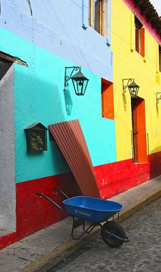 Mexican Houses by mmoralex, via Flickr