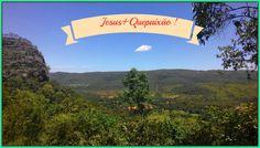 Trilhando com cristo, na serra de lajeado-to! #Jesus+Quepaixão