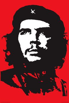 Jim Fitzpatrick, Che, 1968, lithograph and oil painting (originals both lost) based on the 1960 photograph by Alberto Korda