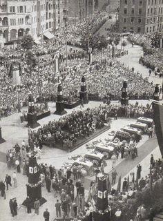Berlin, Abschied von 7 Toten am 23 Juni 1953, Schöneberg.