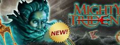 Mighty Trident #Spielautomat ist dem Thema griechischen Mythologie gewidmet! Nehme auch teil damit und spiele dieser spannender Spielautomat von #Novomatic!