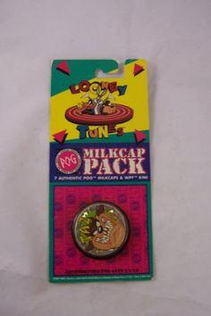 Looney Tunes Collectibal Milkcap Pack 7 Pogs $1.89 (save $3.10)  #POG