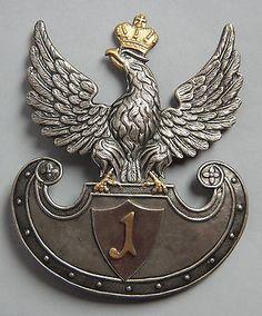 Königreich Polen 1815-1831 Polnischen Ulanen Adler