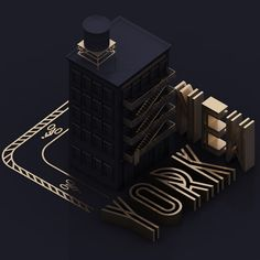 NYC3D on Behance