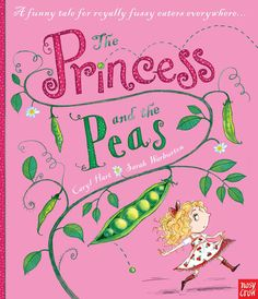 """the princess and the """"peas"""" book for kids...a cute variation of the fairy tale"""