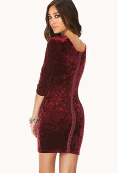 Enchanted Velveteen Dress | FOREVER21 - 2000127945
