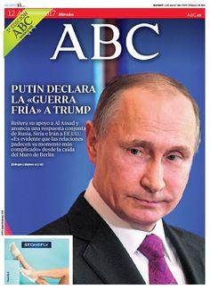 La portada de ABC del miércoles 12 de abril