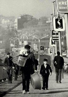 Eskilere Naylon! F: 1973, Unkapanı Köprüsü via @vaybebune