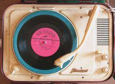 vinyl player - i love vintage