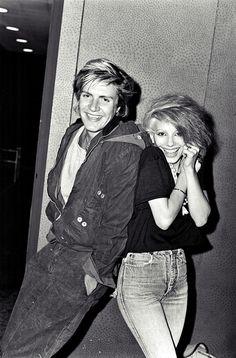 Dale Bozzio & Simon Le Bon, 1980s.