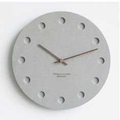 diy wall clocks 596375175641203282 - 12 Inch Nordic Wall Clock Modern Creative Clock Minimalist Living Room Hanging Clock Bedside Mute Wood Clock Home Decor Source by homeelx Hanging Clock, Wall Hanging Crafts, Diy Clock, Diy Wall Decor, Wall Decorations, Clock Ideas, Kitchen Wall Clocks, Kitchen Dining, Diy Bathroom