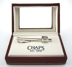 Chaps Ralph Lauren Logo Tie Bar Clip Design - Father's Day Gift Ideas - Best Sellers
