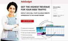 AdsGadget: A Best Alternative of Google Adsense