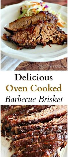 Delicious Oven Cooked Barbecue Brisket #healthyrecipes #healthyfood #recipes #food #maindish
