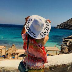 8327a98b Little Sunshine wearing mummy`s sequin hat from Summer Sequins  #summersequins #persnal… | Pinterest