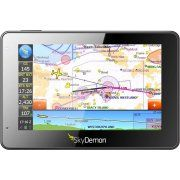 This is the a SkyDemon Mobile MD GPS, a revolution in the world of aviation GPS. The power of its software is equivalent to high-end panel-mounted devices.