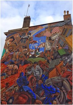 London Radtour Mural Battle of Cable Street