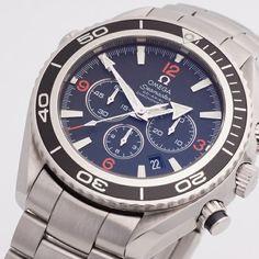 Omega Seamaster Planet Ocean Chronograph - 2910.51.82 #montredo #omega #seamaster #planetocean #chronograph #watches