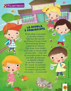 School Life, Back To School, Diy And Crafts, Crafts For Kids, Craft Projects, Projects To Try, Italian Language, Learning Italian, Primary School