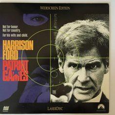 Patriot Games Laserdisc