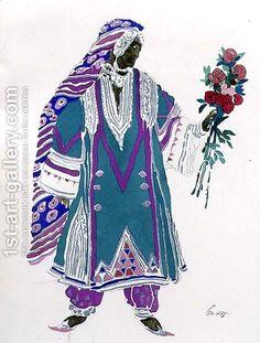Leon Samoilovitch Bakst costume design