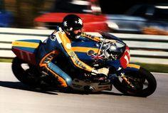 Roger Marshall - Moriwaki racer