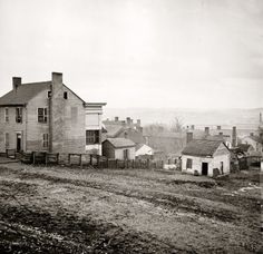 Nashville, 1864. I have lived in Nashville since 1965 about 100 yrs later and FYI it looks nothing like this. lol