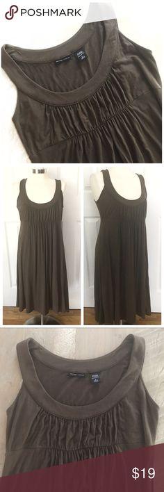 Selling this New York & Company Brown Sleeveless Dress on Poshmark! My username is: katmazzaro. #shopmycloset #poshmark #fashion #shopping #style #forsale #New York & Company #Dresses & Skirts