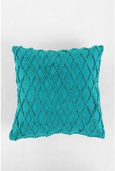 UrbanOutfitters.com > Diamond Chenille Pillow
