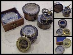 Novos Produtos! Visite-nos!! New Products! #bússolas #compass #relógiodesol #sundial #new #mestredomar #presentes #náuticos