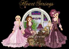 HeartStrings CD original artwork CD collections...Tea's Vintage Papers,Vintage Rags
