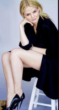 Jennifer Morrison in Elle US (Sep '14)