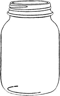 mason jar printable! I\'m going to make this into a visual weight ...