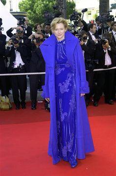 Tilda Swinton blue outfit - Tilda Swinton's 15 most outrageous red carpet looks