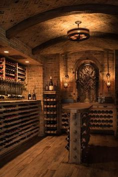 This new collection of interior designs will show you 20 Absolutely Glorious Mediterranean Wine Cellar Designs You'll Go Crazy For.