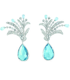 Boucheron 'Paon de Lune' earrings