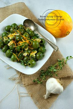 Authentic Suburban Gourmet: Warm Spicy Citrus Castelvetrano Olives | Friday Night Bites Quick Recipes, Whole Food Recipes, Dinner Recipes, Olive Bar, Best Diet Plan, Small Plates, Best Diets, Italian Recipes, Love Food