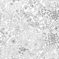 coloring pages for adults / coloriage anti stress pour adulte - Recherche Google