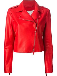 Shop women's leather jackets online now at Farfetch. Find women's designer leather jackets from luxury brands at top boutiques. Leather Jackets Online, Designer Leather Jackets, Cropped Leather Jacket, Fashion Branding, Cute Casual Outfits, Urban Fashion, Mantel, Jackets For Women, My Style