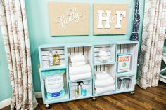 Need extra storage space in your bathroom? Try fruit boxes to keep everything organized! For more great DIYs, tune in to Home & Family weekdays at 10a/9c on Hallmark Channel!