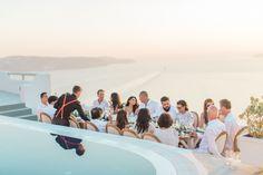 Photography: Anna Roussos - www.annaroussos.com Reception Venue: Celestia Grand Executive Villas - www.celestiagrand.com Event Planning: Santorini Glam Weddings  - www.santoriniglamweddings.com   Read More on SMP: http://www.stylemepretty.com/destination-weddings/2015/12/30/sun-soaked-santorini-wedding/