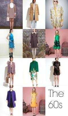 Pre-Fall 2014 Fashion Trends - The 60s Nod
