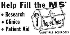 1958 - Hope Chest for Multiple Sclerosis by clotho98, via Flickr