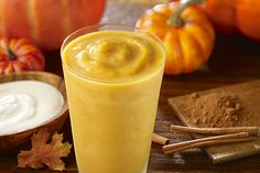 Tips For A Nutritious And Delicious Pumpkin Season. Our Pumpkin Spice Smoothies are a great option to get in fiber, vitamins and minerals from pumpkin all while enjoying every sip!