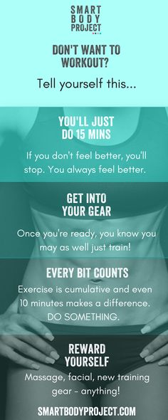 Want more ideas on how to make working out easier? Stay on track with my top tips...