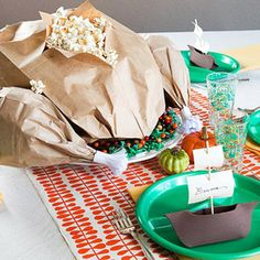 Turkey Treat...too cute...love this idea for my classroom  (Onecharmingparty.com - posted on Parents,com)