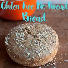 Gluten Free No Knead Bread. I need to try this receipt. Sounds easy-peasy and yummy in my tummy!